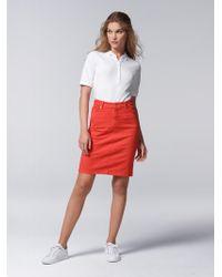 Bogner 5-pocket Jeans Skirt Jodie - Red
