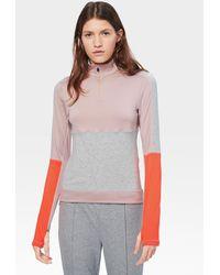 Bogner Della First Layer In Gray/dusky Pink/orange - Multicolor