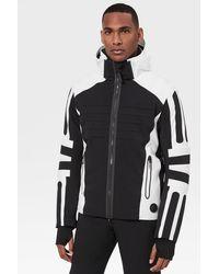 Bogner Kaleo Ski Jacket In Black/white