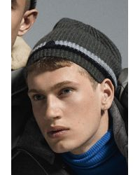 Bogner - Matteo Knitted Beanie In Olive Green - Lyst
