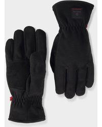 Bogner Lari Fleece Gloves In Black