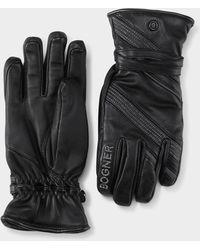 Bogner Sanna Leather Gloves - Black