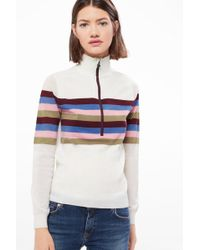 Bogner - Mabell Knit Pullover In Off-white - Lyst