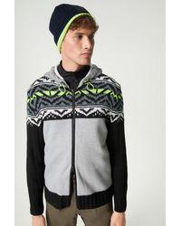 Bogner Seven Hoodie Knit Jacket - Multicolour