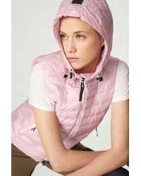 Bogner Kate Quilted Waistcoat - Pink
