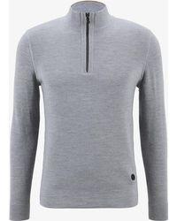 Bogner - Borne Pullover In Grey Melange - Lyst