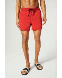 Bogner Nelson Swimming Shorts - Red