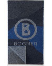Bogner Schal Scarf - Blau