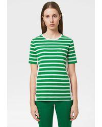 Bogner Augusta T-shirt In Green/white