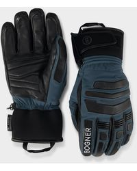 Bogner Agimo Gloves In Navy Blue/black
