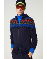 Bogner Seven Hoodie Knit Jacket - Blue