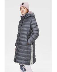 Bogner Pallas Down Coat In Dark Gray