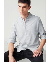 Bogner Franz Piqué Shirt - Grey