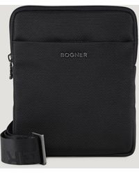 Bogner Keystone Frank Shoulder Bag - Black