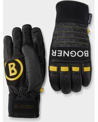 Bogner Dag Leather Gloves In Black