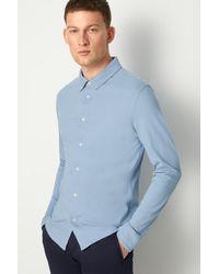 Bogner Franz Piqué Shirt - Blue