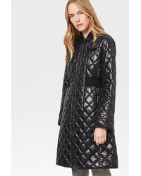 Bogner Aleen Quilted Coat - Black