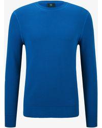 Bogner - Agon Knit Pullover In Atlantic Blue - Lyst