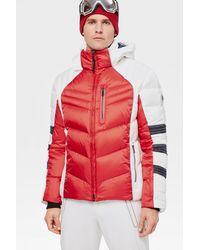Bogner Bruce Down Ski Jacket In Red/white