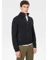 Bogner - Wern Cashmere Knit Jacket In Anthracite - Lyst