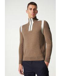 Bogner Darius Half-zip Pullover - Natural