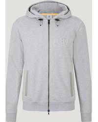 Bogner Jaden Sweatshirt Jacket - Grey
