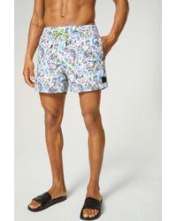 Bogner Nelson Swimming Shorts - Blue