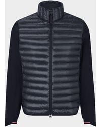 Bogner Fire + Ice Pauly Hybrid Quilted Jacket In Black
