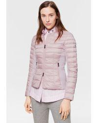 Bogner - Eda Lightweight Down Jacket In Pink - Lyst