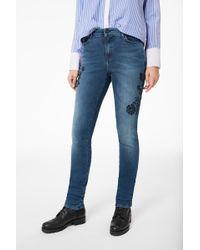 Bogner - Julie Jeans In Washed Denim Blue - Lyst