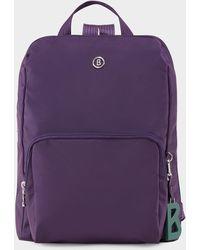 Bogner Verbier Maxi Backpack In Purple