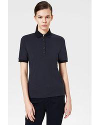 Bogner Nell Polo Shirt In Navy Blue