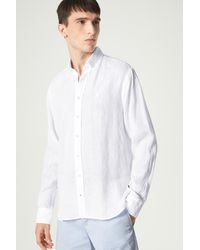 Bogner Timt Linen Shirt - White