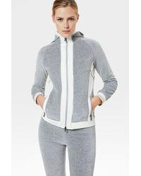 Bogner Velvet Sahara Sweatshirt Jacket - Multicolour