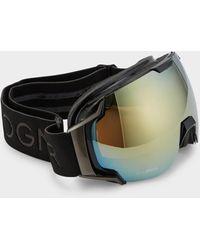 Bogner Just B Gold Ski goggles In Black - Metallic