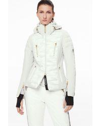 Bogner - Suzie Ski Jacket In Off-white/camouflage - Lyst
