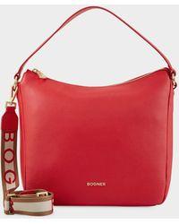Bogner Andermatt Marie Hobo Bag - Red