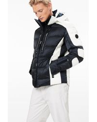 Bogner - Carter Down Ski Jacket In Navy Blue/white - Lyst
