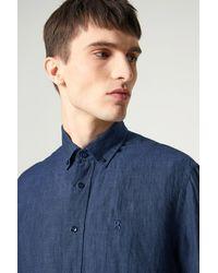 Bogner Timt Linen Shirt - Blue