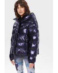 Bogner Ranja Quilted Ski Jacket - Purple
