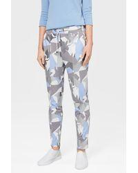 Bogner Kelly Jogging Pants In Off-white/blue/silver