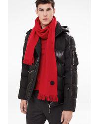 Bogner - Wool Scarf In Red - Lyst