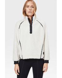 Bogner Noara Shearling Sweatshirt - White