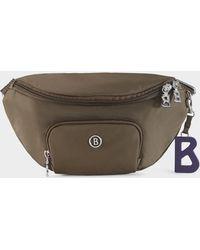 Bogner Verbier Janica Belt Bag In Khaki - Multicolour