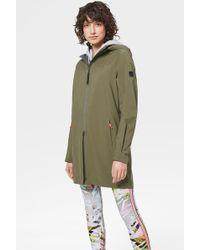 Bogner Daria Functional Coat In Olive Green