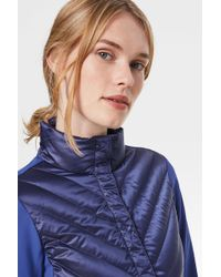 Bogner Taillierte Hybrid-Jacke Frida - Blau