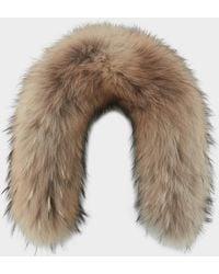 Bogner - Nurea Fur Trim In Camel - Lyst