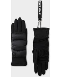 Bogner Touch Gloves - Black