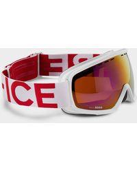 Bogner Fire+ice Ski goggles In White/red