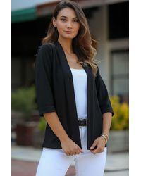 Bold Basic Black Jacket